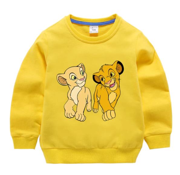 חולצה ארוכה של מלך האריות